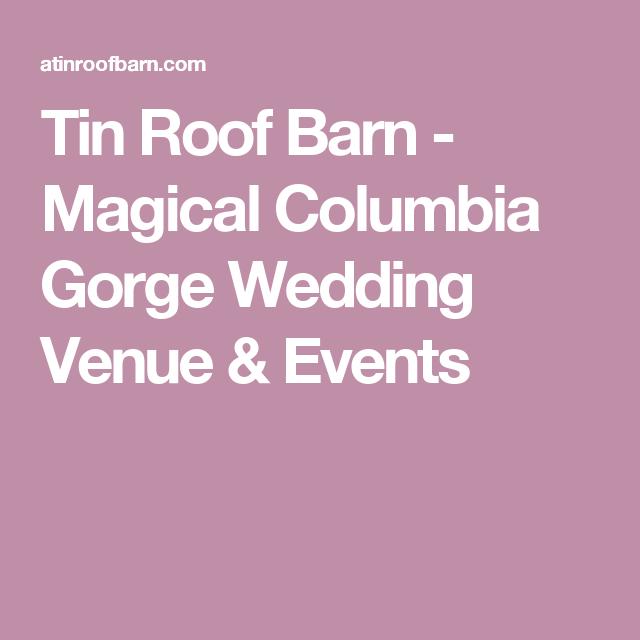 Magical Columbia Gorge Wedding Venue