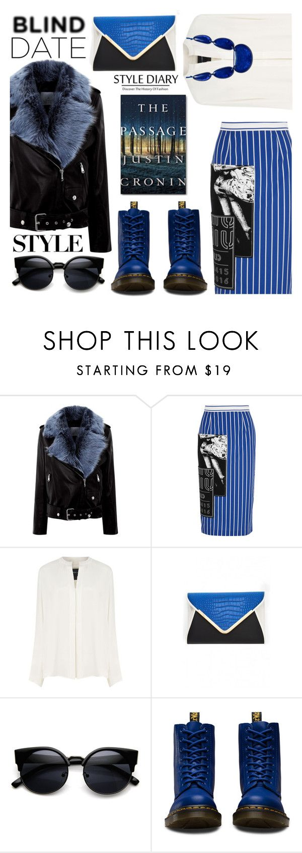 """What to Wear: Blind Date"" by the-reluctant-dragon ❤ liked on Polyvore featuring La Bête, Miu Miu, Derek Lam, Dr. Martens, INC International Concepts and blinddate"
