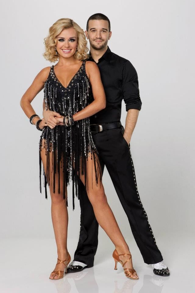 Who is dating on dancing with the stars 2012