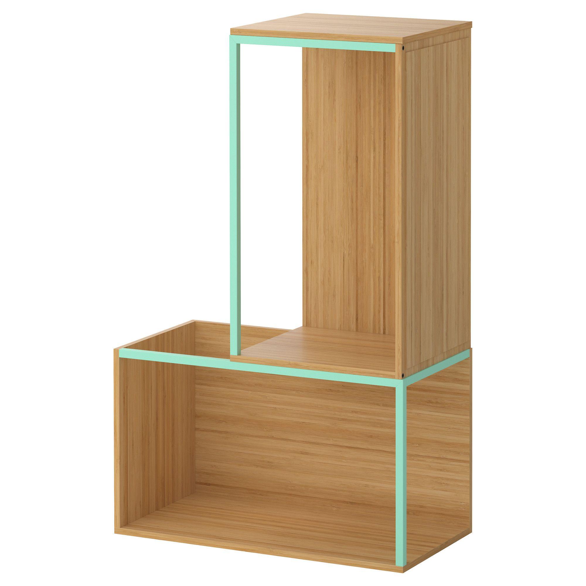 Ikea ps 2014 combina o arruma o c topo bambu verde - Mobile angolare ikea ps 2014 ...
