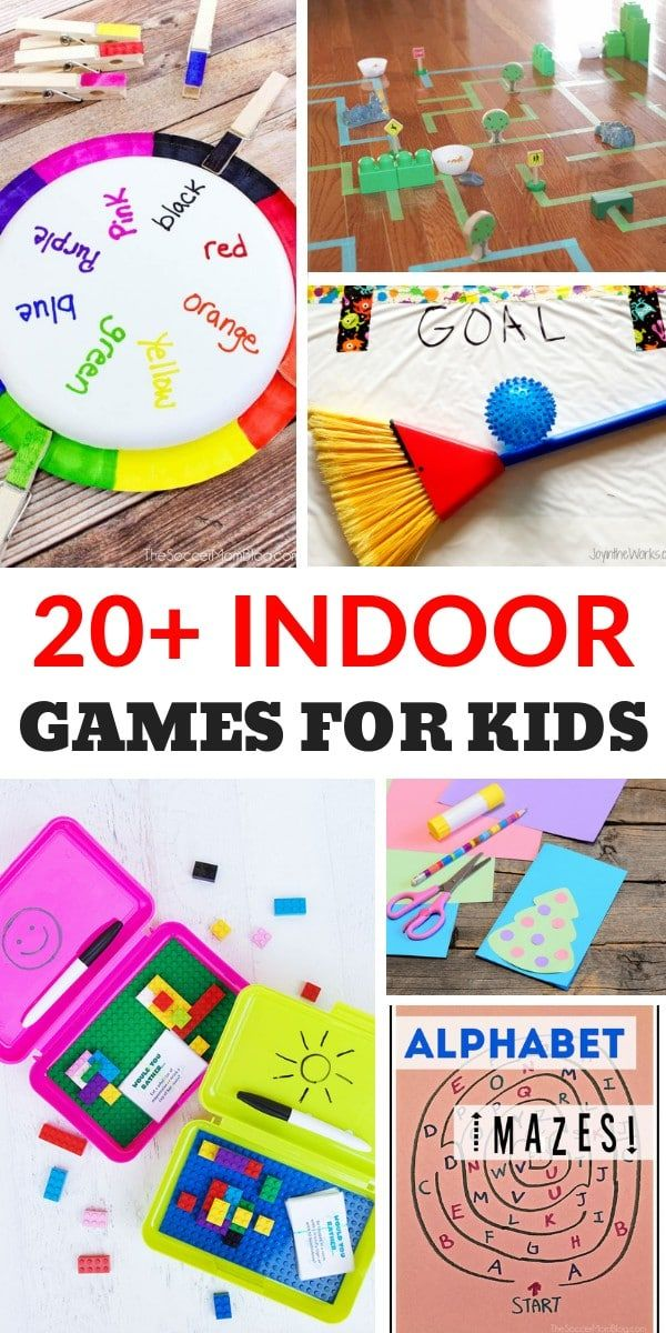 Indoor Games for Kids Indoor games for kids, Kid games