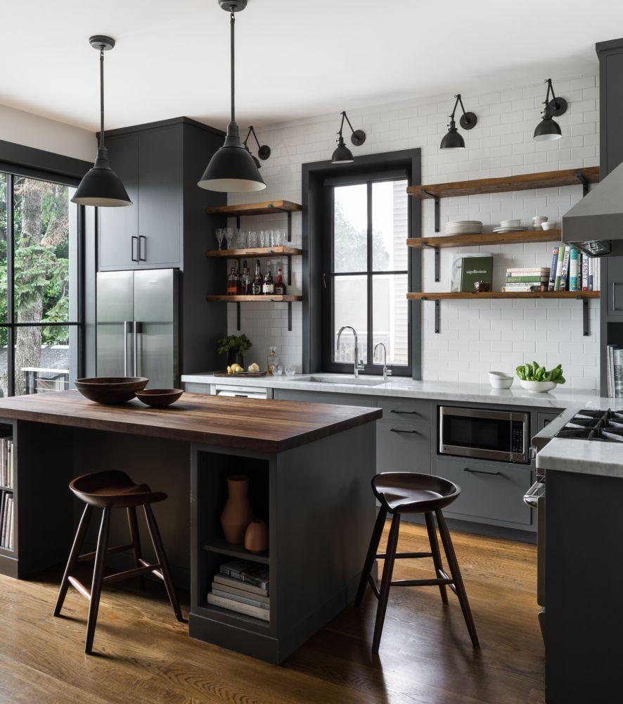 Palisade Ave Mowery Marsh Architects Llc Modern Kitchen Cabinet Design Kitchen Interior Kitchen Cabinet Design