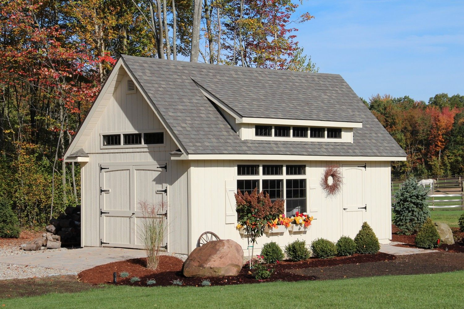 Grand Victorian: Sheds, Storage Buildings, Garages: The Barn Yard &  Great Country Garages | Garage house plans, Building a shed, Shed plans