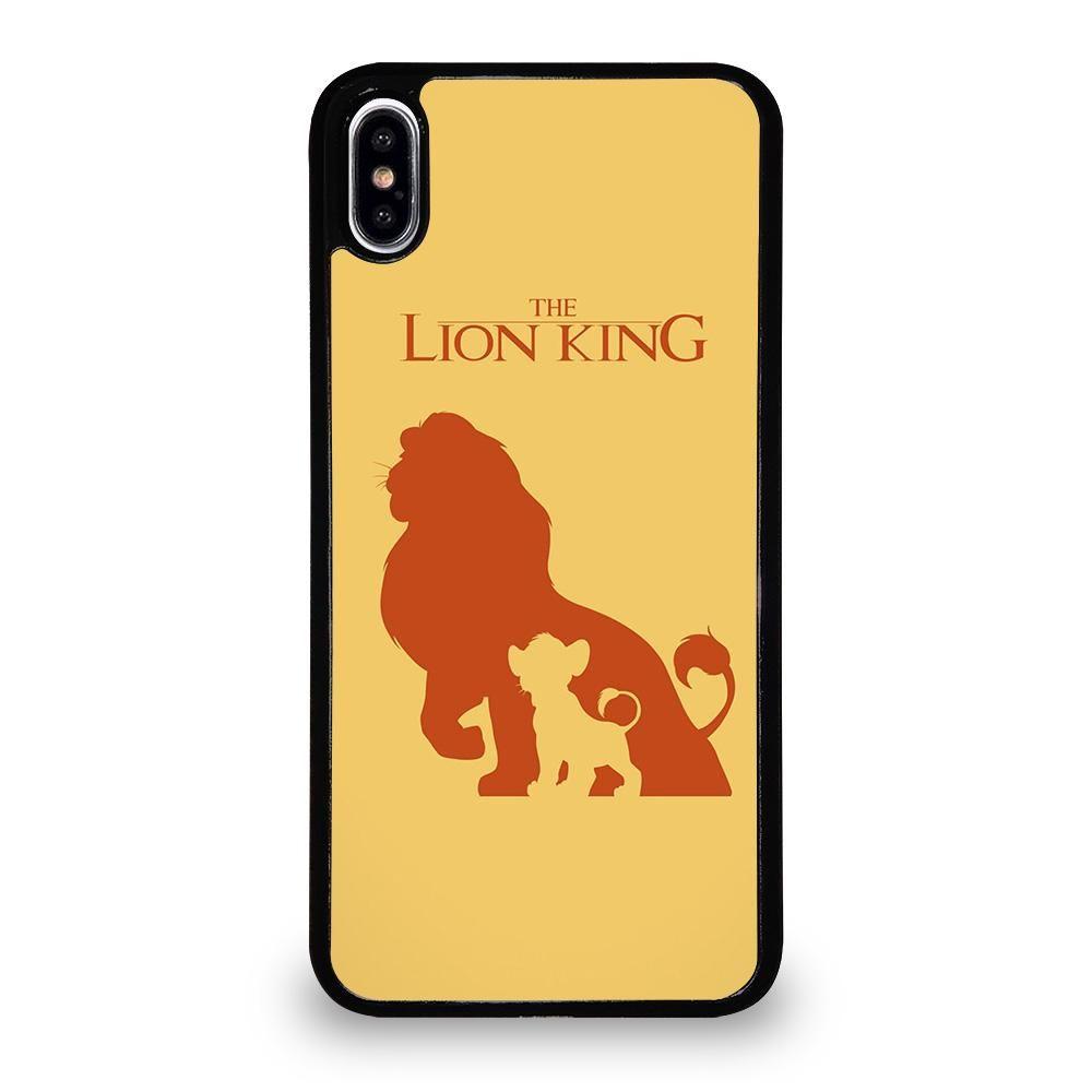 lion iphone xs case