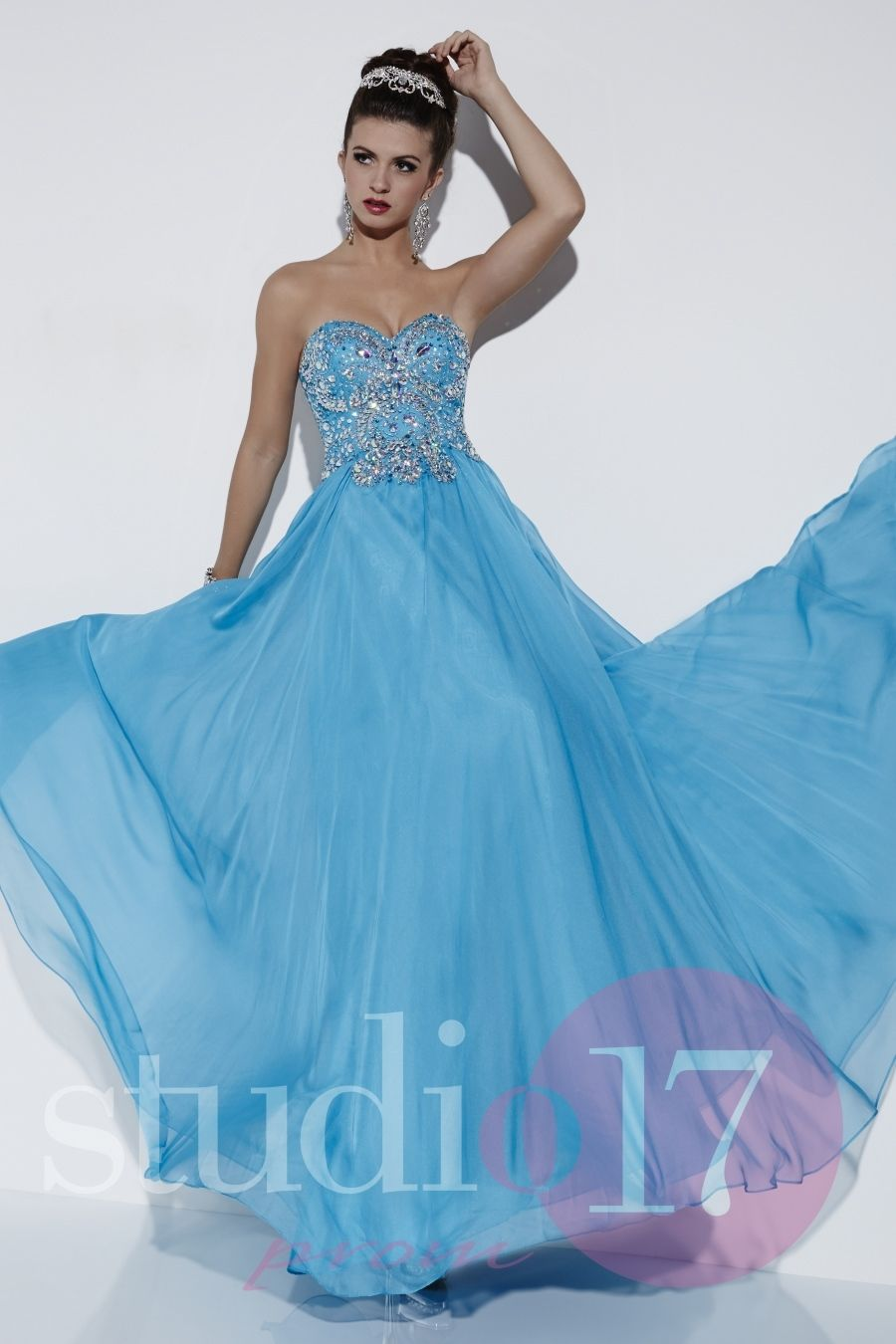 Studio 17 Long Dress 12525 Long Gown - Everything4pageants.com