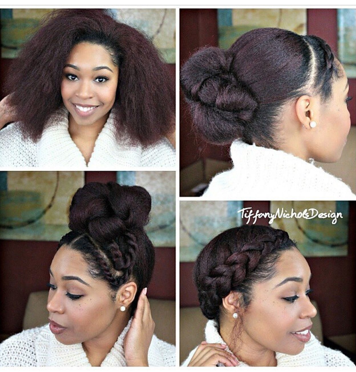 Pin by maell pierrelouis on hair pinterest natural hair style