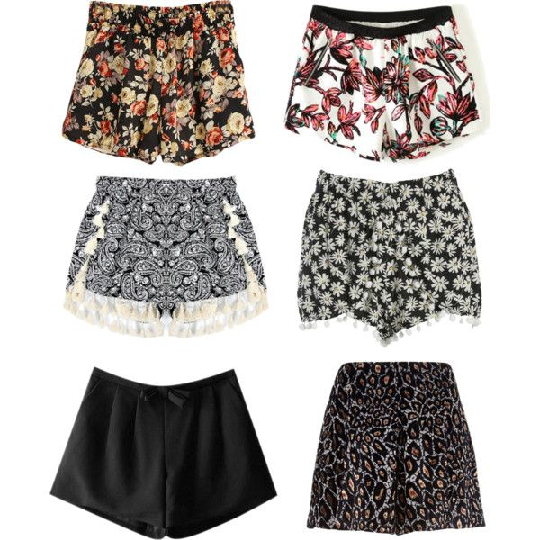 """SHORTS"" by angela-hv on Polyvore"