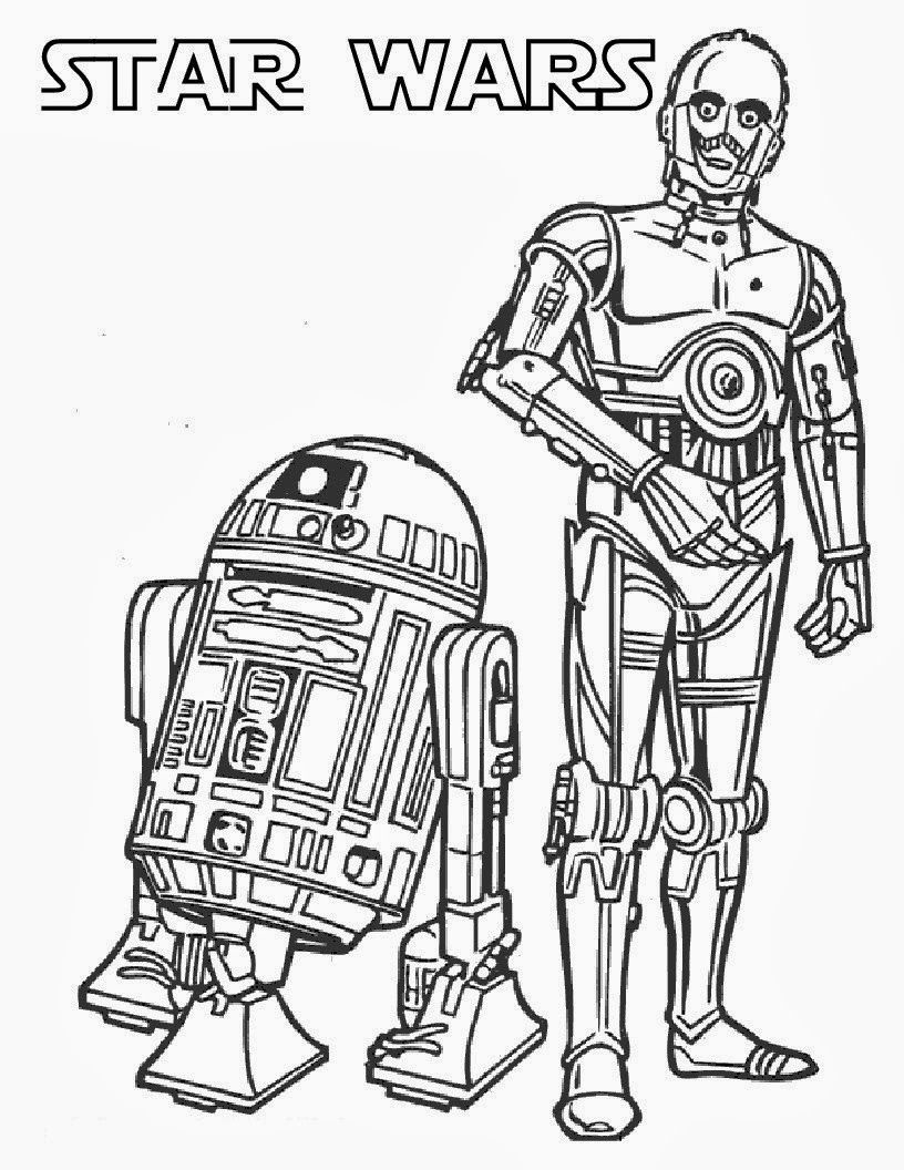 printable star wars coloring pages | Coloring | Pinterest | Star ...