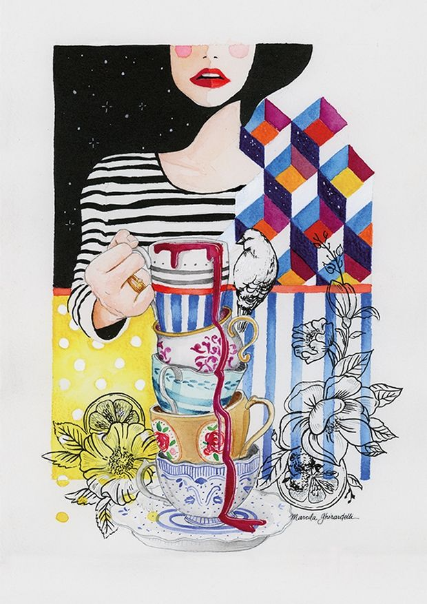 Marcela Ghirardelli: entre bordados e ilustrações, a artista fala sobre seu trabalho feminino, flora e cores - Follow the Colours