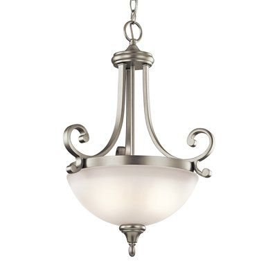 Shop kichler lighting 43163 monroe inverted large pendant at lowes canada find our selection of pendant lights at the lowest price guaranteed with price