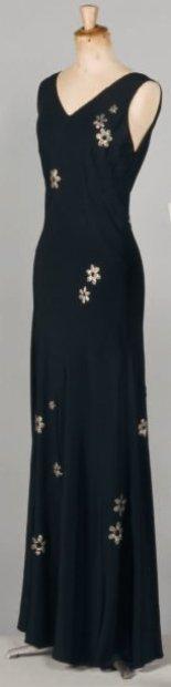 Boulanger Dress - c. 1935 - Haute Couture by Louise Boulanger - @~ Watsonette