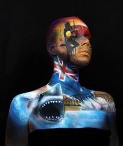 Body Art Festival - Eumundi - Sunshine Coast, Australia.
