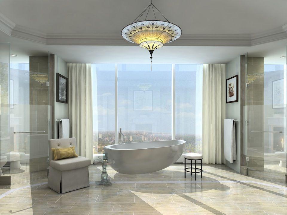 Four Seasons Hotel And Private Residences Toronto Master Bathroom