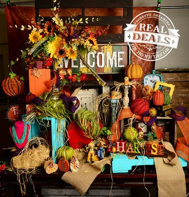 Fall And Autumn Home Decor At Real Deals On Home Decor Fall Halloween Pinterest