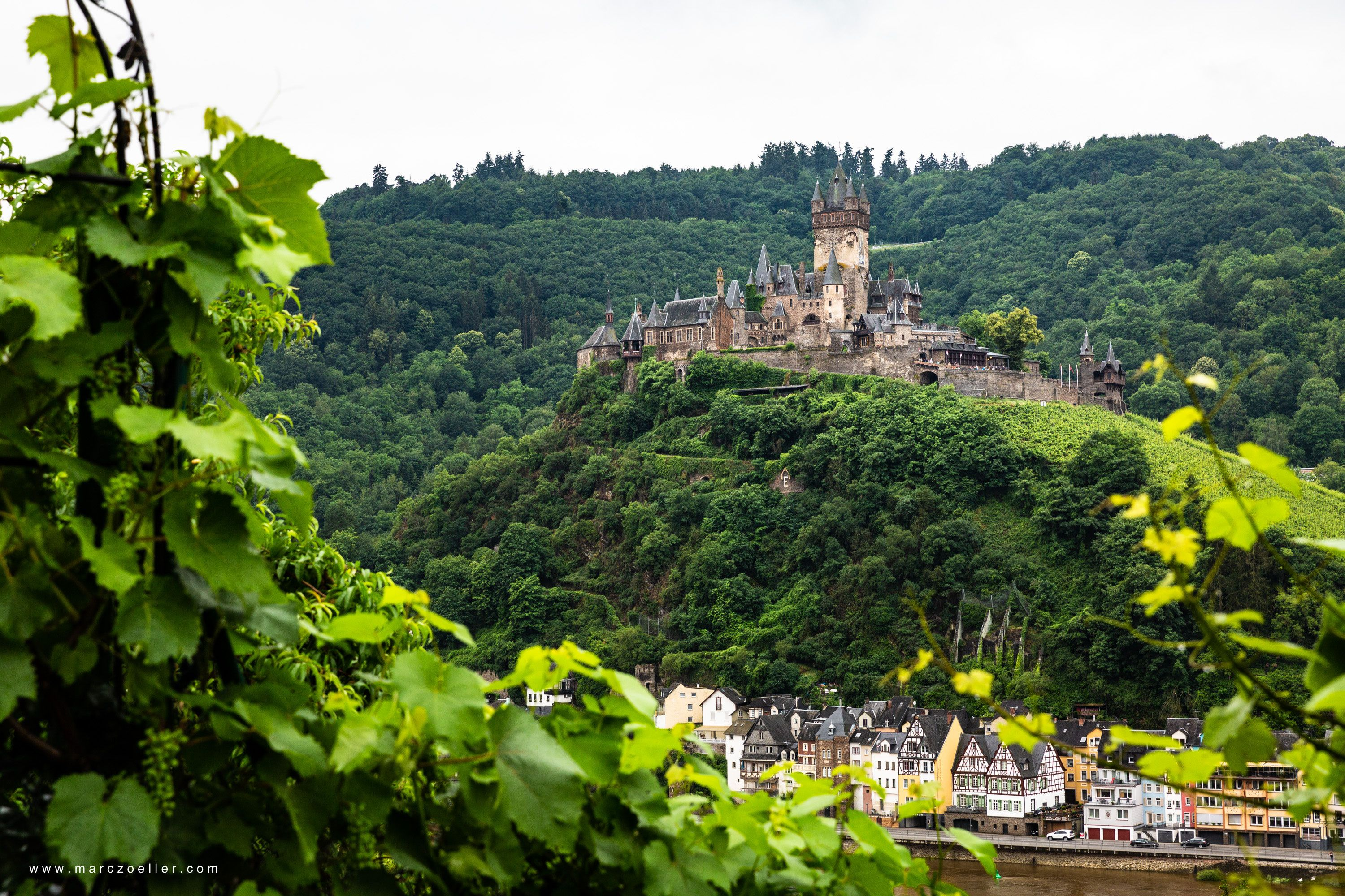 Reichsburg Cochem Germany Rheine Bacharach Roadtrip