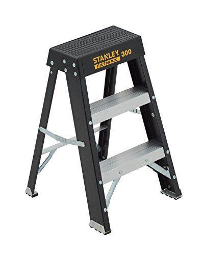 Astonishing Stanley Sxl3011 02 Fatmax Fiberglass Step Stool 02 Foot Machost Co Dining Chair Design Ideas Machostcouk
