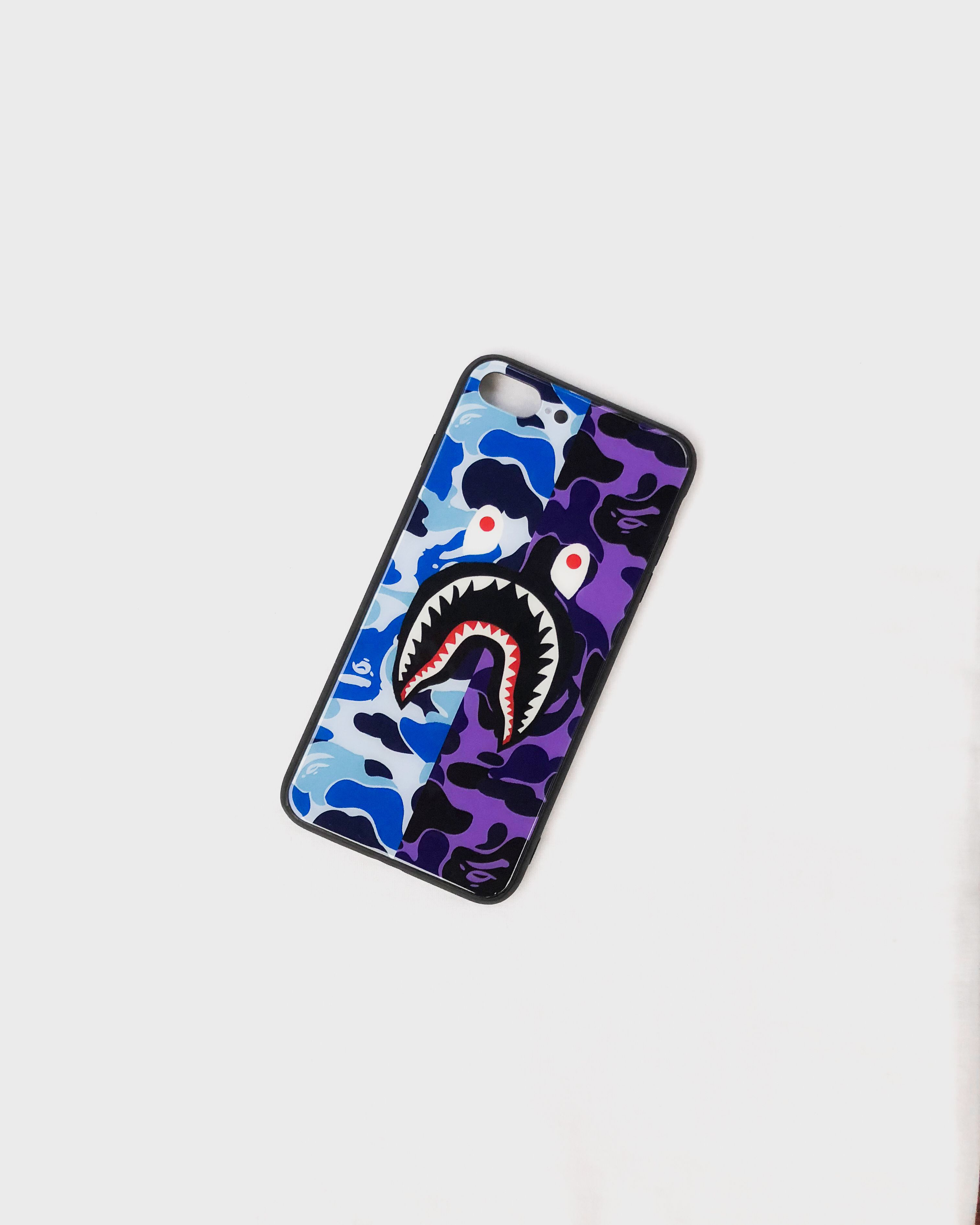 huge selection of 4e5c3 a55a4 Colorful Shark Blue-Purple iPhone Case in 2019 | Hypebeast Cases ...