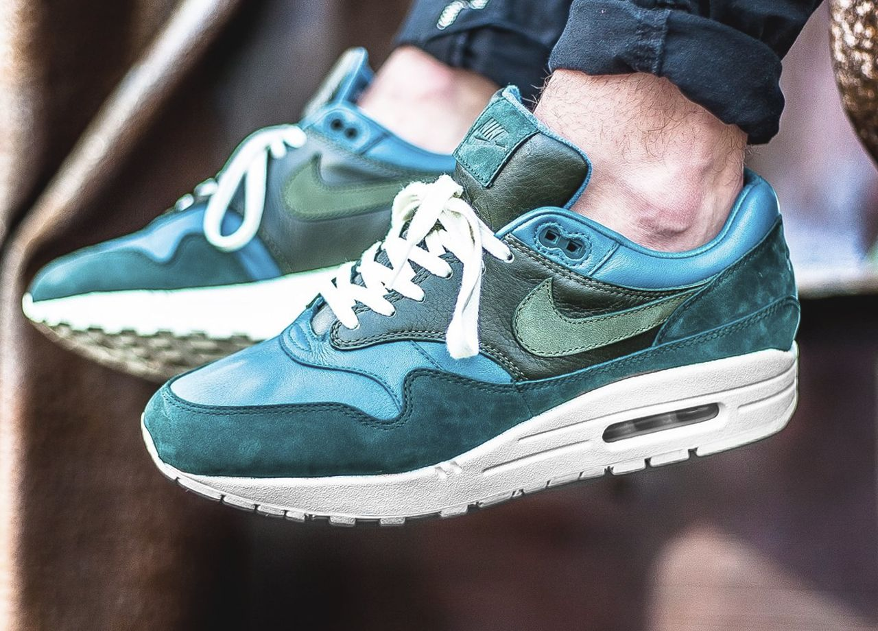 Nikelab Air Max 1 Pinnacle Iced (By Jade Cargo Khaki 2017 (By Iced 1ec8a5