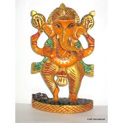 Ganesha Painted 6 Inches Online Shopping India Buy Handicrafts