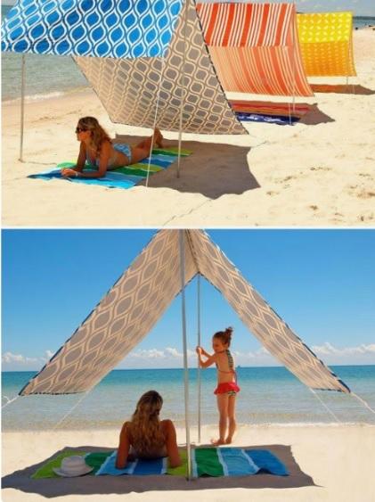 Sombrilla De Playa Moderna Somvi Http Bit Ly 2w0hfwu Sombrillas Para Playa Toldos Para Playa Carpa De Playa