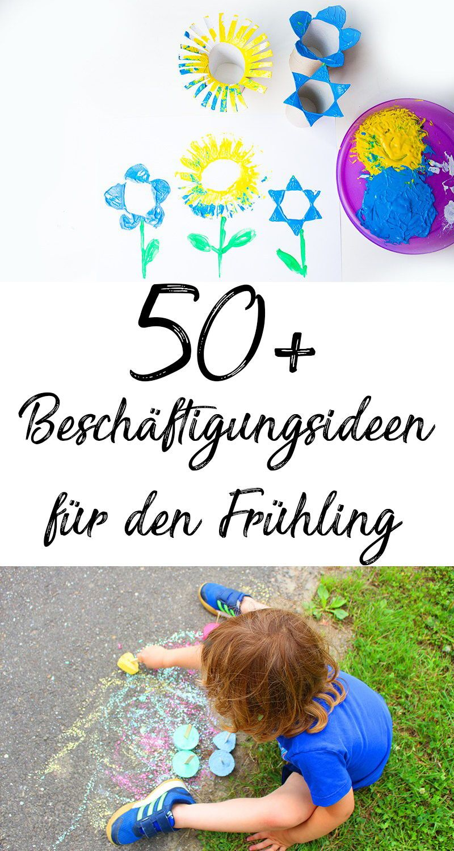 Über 50 Ideen um Kinder im Frühling zu beschäftigen — Mama Kreativ