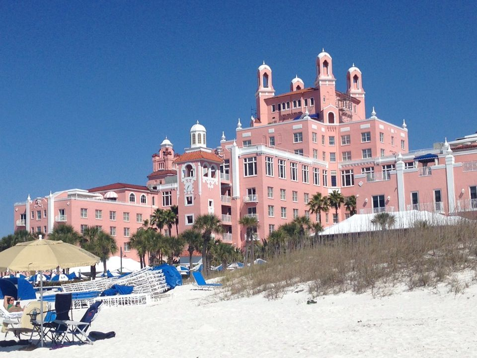 Don Cesar Hotel On St Pete Beach You Can T Miss This Pink