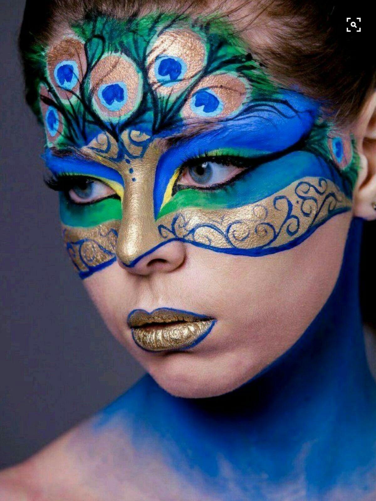 Imagen sobre Maquillaje de fantasía de KATERINA HERNANDEZ