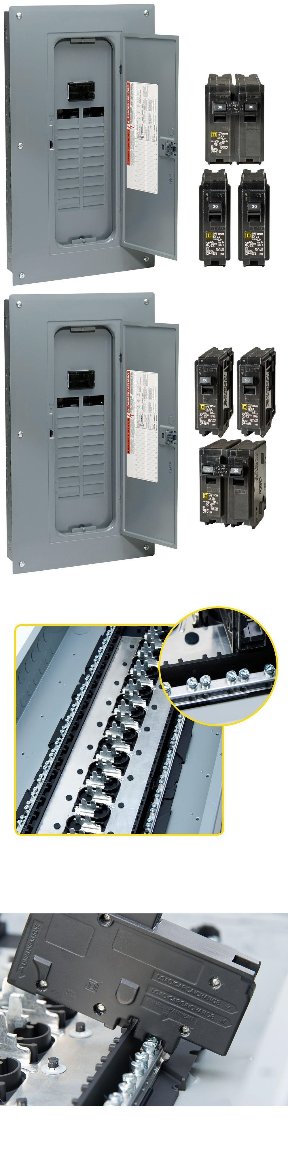 Circuit Breakers And Fuse Boxes 20596 Indoor Main Plug On Neutral Box Breaker Load Center