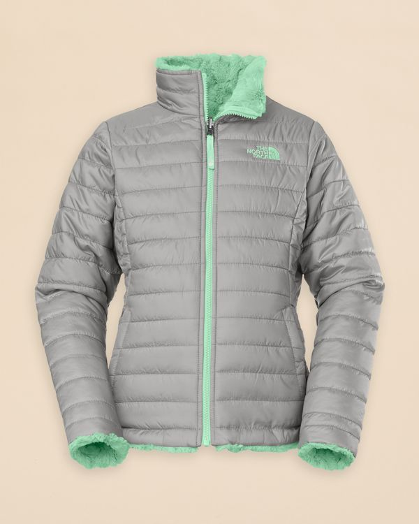 dd382e893af7 The North Face Girls  Reversible Mossbud Swirl Jacket - Sizes Xxs-xl ...