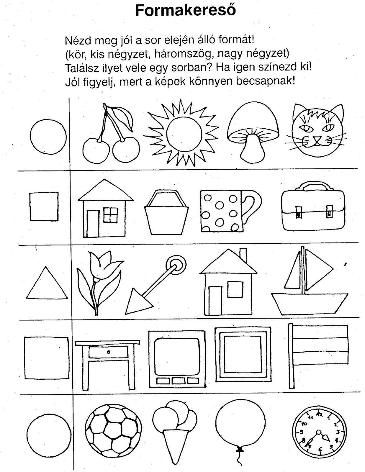 Pin by Monika Menczer on i.é. | Pinterest | Kindergarten math ...