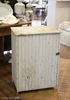Cover For A Mini Fridge I Think I Should Challenge Adam To Make Something Like This Fridge Decor Mini Fridge Cabinet Primitive Cabinets