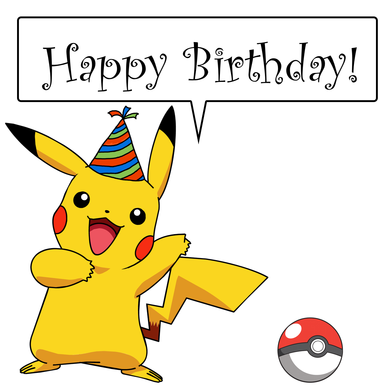 Found On Bing From Www Morganprince Com Pokemon Birthday Card Birthday Pikachu Happy Birthday Cards