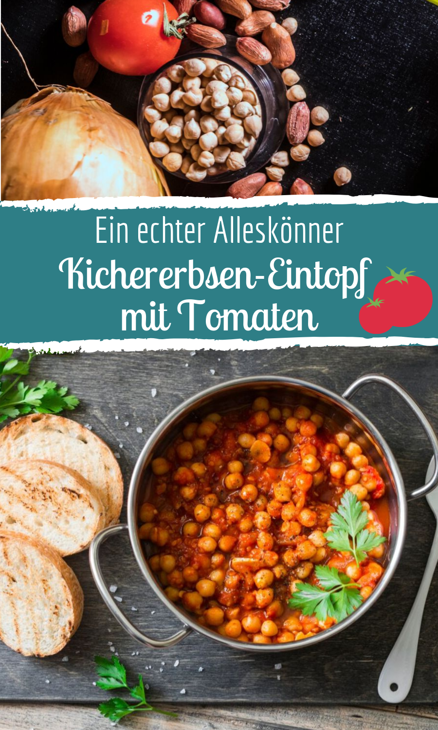Photo of Kichererbsen-Eintopf mit Tomaten