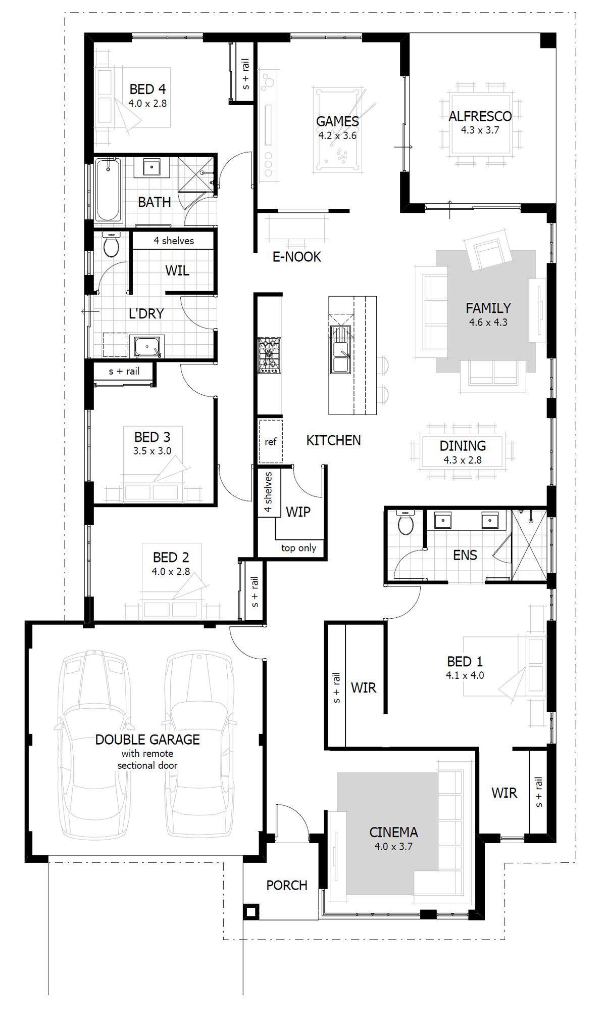 7 Bedroom House Plans Australia 2021 Desain Rumah Rumah Desain