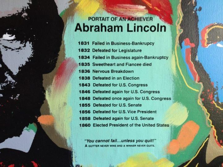 Portrait Of An Achiever Definition Of Success Abraham Lincoln Motivational Quotes
