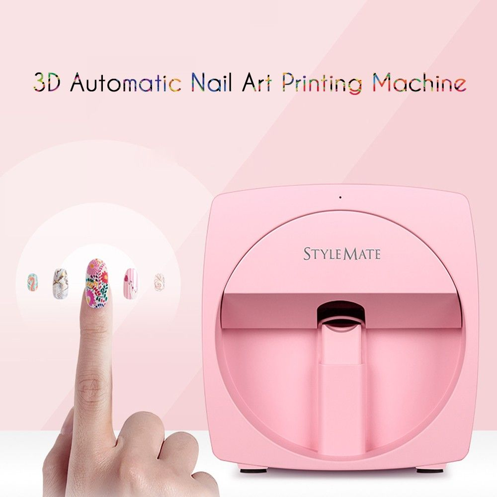 Stylemate Mobile Nail Printer 3d Automatic Nail Painting Nail