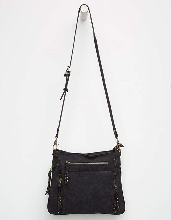 ff426b2a5c07 VIOLET RAY Randi Studded Crossbody Bag