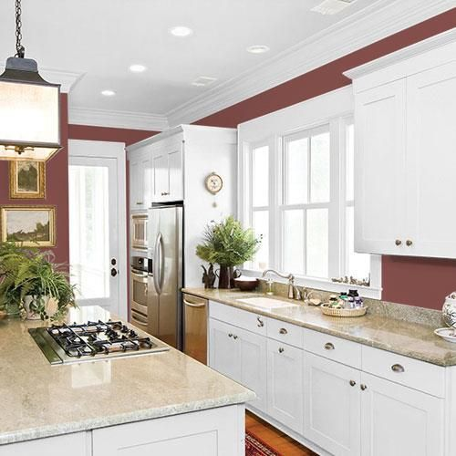 Cherokee Red PPG13-02 | Ppg paint colors, Kitchen style ...