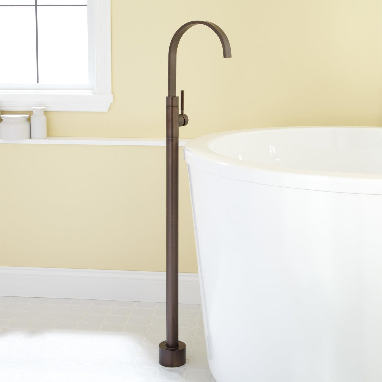 Jenkins Freestanding Tub Faucet  Freestanding Tub Faucet And Tubs Beauteous Oil Rubbed Bronze Bathroom Faucet Design Inspiration