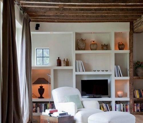 Belgian Pearls Interior Open Shelving Home Decor