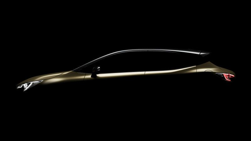 Toyota Teases New Generation Auris Known In America As Corolla Im