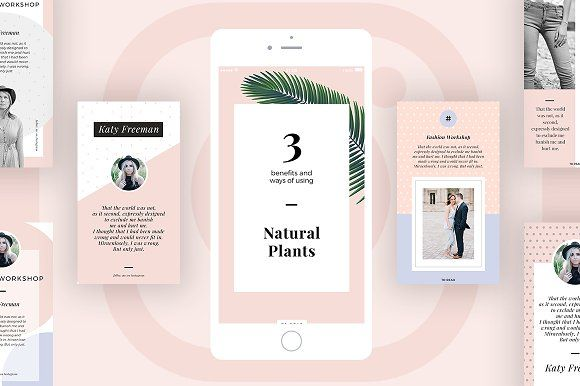 Bella Instagram Stories for Bloggers by MinimalStudioCo on