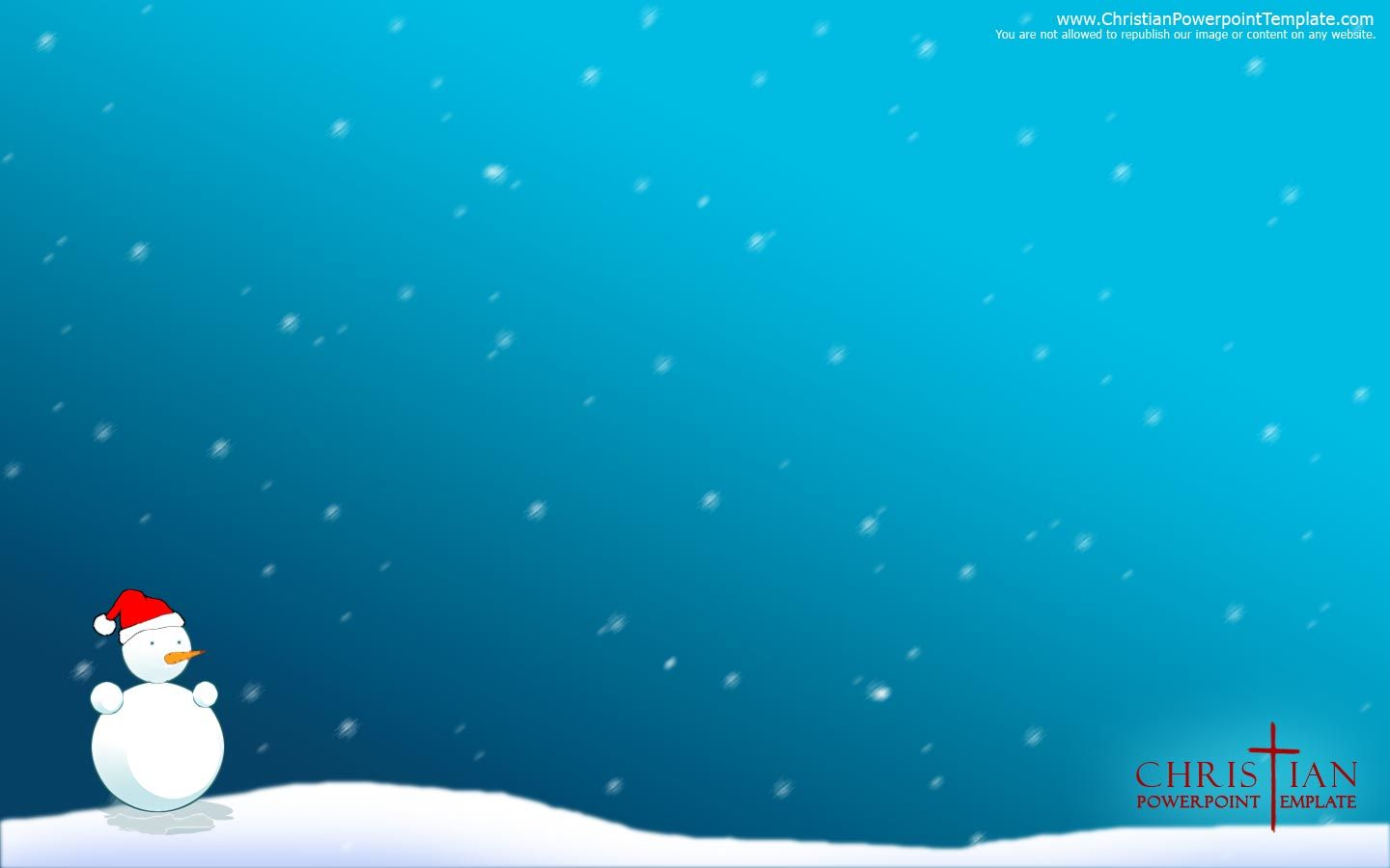 Image detail for powerpoint template blog archive snowman christmas background lol for Christmas ppt theme