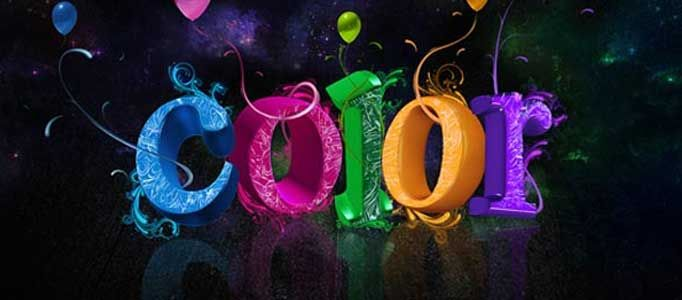 Create a Multi-Colored Text Effect in Photoshop ...