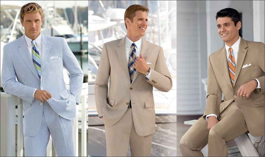 Mens Suits For Summer | JoS. A. Bank | Paul Rakowski | Pinterest ...
