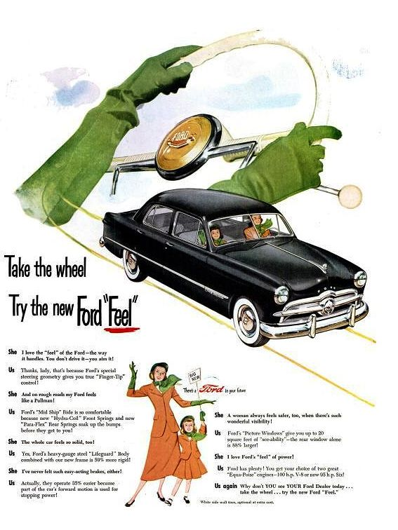 Ford Life 23 May 1949 Automobile Advertising Ford Motor Ford