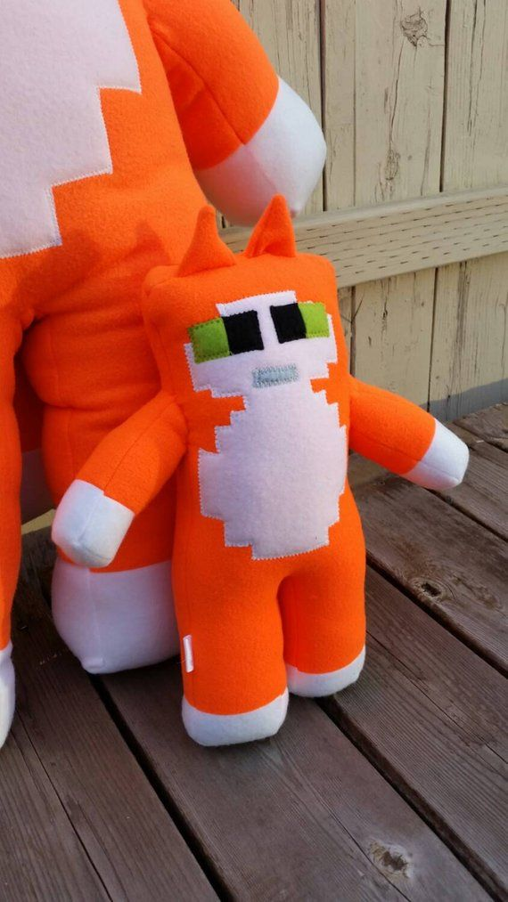Stampy Cat (Stampy Longnose) Plush - minecraft in 2019
