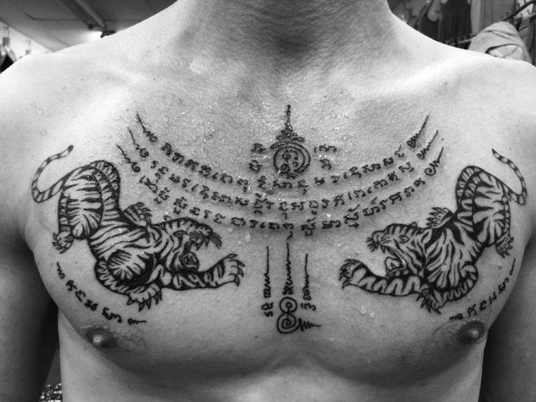 Tatuajes Tailandeses 24 Disenos Tradicionales Magicos Tatuajes - Opciones-de-tatuajes