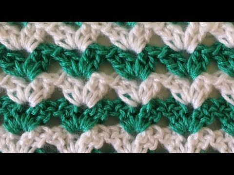 Stitch Repeat Shell 1 Free Crochet Pattern From Maggies Crochet