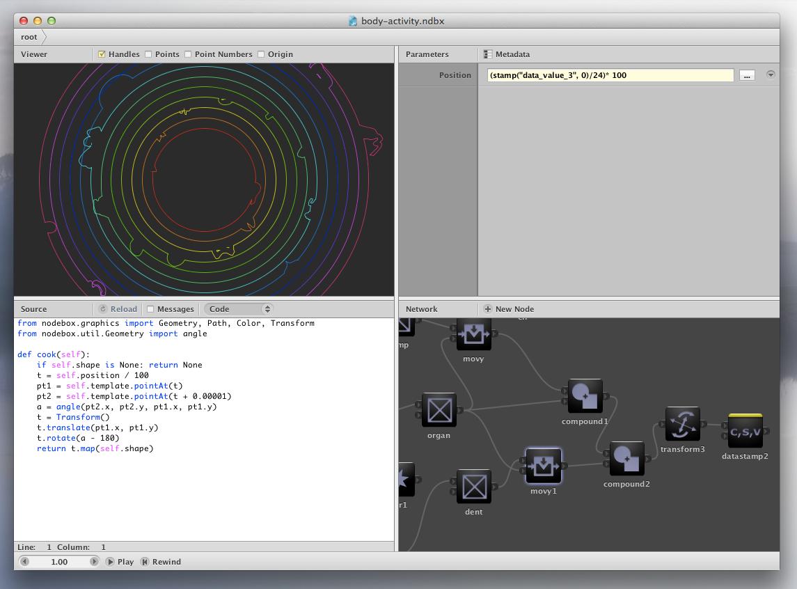 NodeBox - Direct access to the Python code | nodebox | Pinterest ...